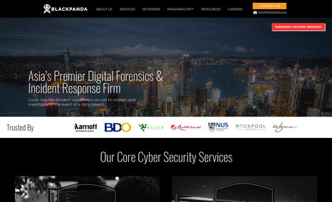 Blackpanda Cybersecurity firm based in Singapore and serving ...