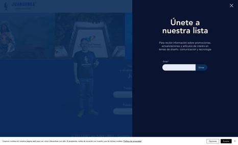JUAN URREA ARTISTA VISUAL DISEÑO DE MARCA + DISEÑO WEB + IMAGEN DE IDENTIDAD...