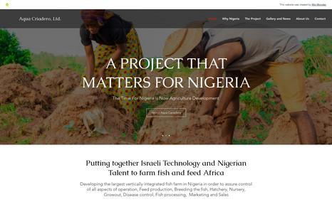 Aqua Criadero Consulting company in the fish farming industry op...