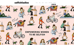 selfish ladies Women empowerment website