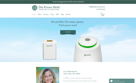 She Knows Mold She Knows Mold is a small business that specialize...