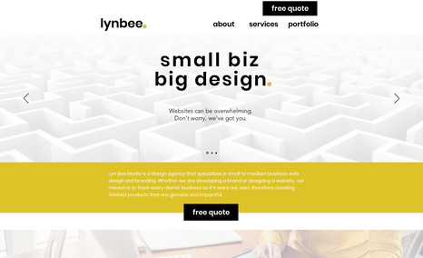 Lyn Bee Media Lyn Bee Media's own website is both friendly and p...