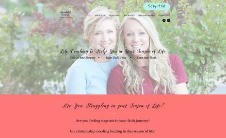 Beautiful Seasons Life Coaching Donna and Andrea are certified professional life c...