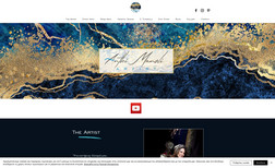 Anthi Manoli This website has been designed for a mixed arts ar...