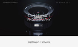Erin Simmons Photography Links to online store where visitors can purchase ...