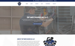GP Mechanical Complete business presence with logo creation, soc...
