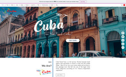 Cuba Travel Trips Advance Website using Databases + Wix Programming ...