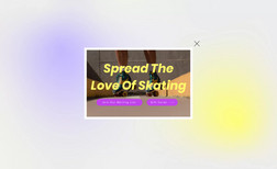 skaterobics This is a landing page where people can sign up fo...