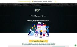 grow-business Creating websites, Creating an e-shop, Social Medi...