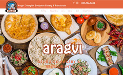 aragvi This site was designed for Georgian Bakery and Caf...