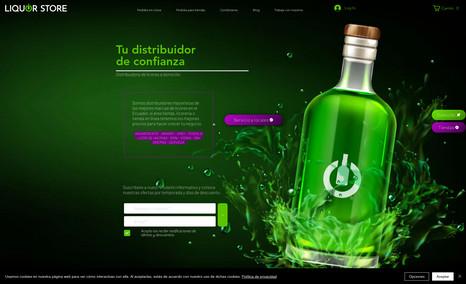 Liquor Store Tienda en línea de venta de productos para público...