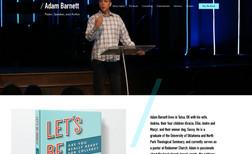 Adam Barnett Adam is a author and pastor in Tulsa, OK.