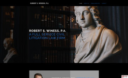 Robert S. Winess PA Robert S. Winess, P.A. is a civil litigation law f...