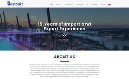 Bestonit A.Ş. Import and Export Business Website