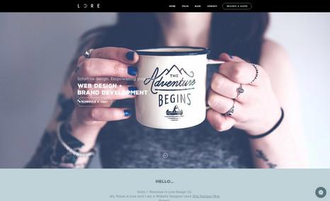 Lore White I specialise in web design and brand development f...