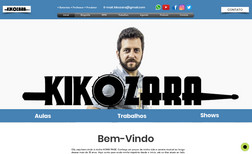 kikozaraoficial Musico, Professor , Integrante da Banda RPM (Brasi...