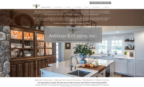 Artisan Kitchens Full-service kitchen and bath design/build firm in...