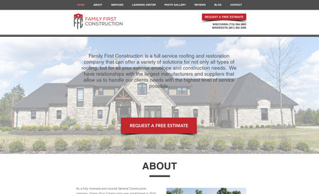 Family First Construction Family First Construction provides many services l...