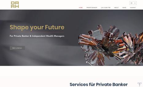 drrh Konzeption, Design und Realisation der Website für...