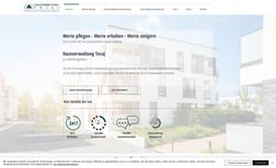Hausverwaltung Tocaj Webseite für eine Hausverwaltung