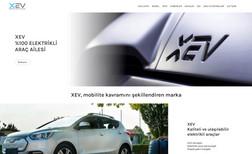 XEV Cars Electric Car Brand Website