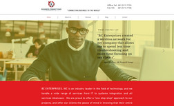 BCE Enterprises This IT company was in need of an updated website ...