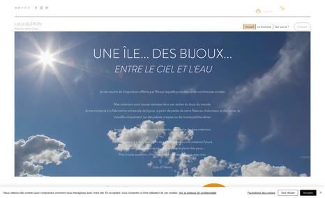 Lulu Oléron Relooking et optimisation d'un site existant. Mise...