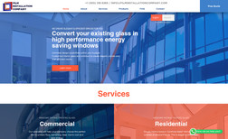 Film Installation Company - Miami We developed the website for Film Installation Com...
