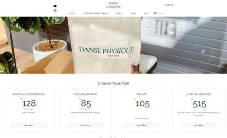 Set up video paid subscription, change homepage design, restructure site, fix design layouts.