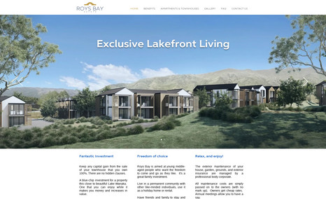 Roys Bay Estate Exclusive Lakefront Living in Wanaka.