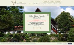 Waldhaus Wilhelm Webdesign für ein Hotel- und Restaurantbetrieb