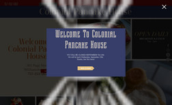 Colonial Pancake House Located in the heart of Williamsburg,VA in Colonia...
