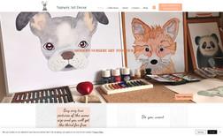Nursery Art Decor E-shop of hand-painted children's pictures.