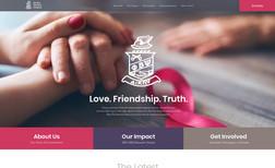 Upsilon Gamma Branding, Web Design, Copywriting, Donation & Form...