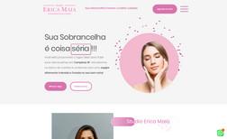 studio-erica-maia Site para Estética totalmente integrado com APP de...