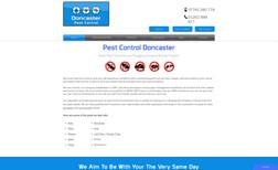 Doncaster Pest Control Website redesign