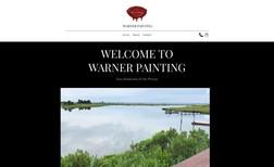 Warner Painting Website designed to supply information & give visi...
