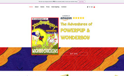 Powerpup & Wonderboy Dog Book A playful yet informative book website.