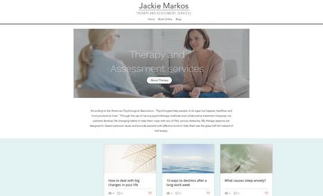 Jackie Markos Jackie is a Mental health professional providing m...
