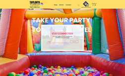 Taylor Turnup Party Inflatables site