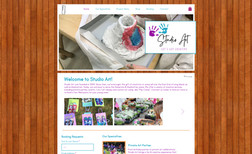 Studio Art Kids This website is informational with e-commerce so t...