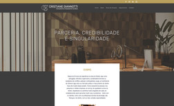 Cris Giannotti Advogados Site institucional de escritório de advocacia