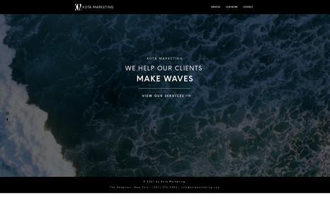 Kota Marketing Our favorite site yet 😉