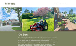 Green Dove Inc. Website made for Hamptons-based landscaping compan...