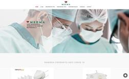 Medma Medical devices website