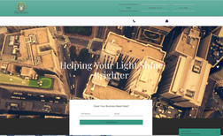 mysite Basic Landing page for Reputation Management compa...