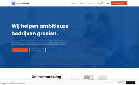 Interactive Monkey Interactive Monkey is een online marketingbureau u...