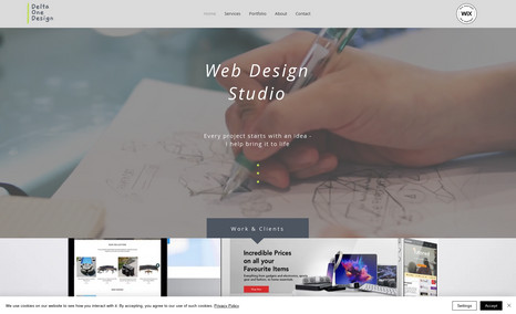 Delta One Design Web Design Studio - Stunning cost-effective websit...
