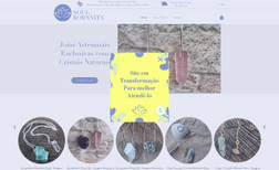 Soul Bornnita Site e-commerce de joias de cristais terapêuticos