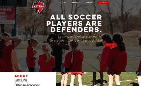 Last Line Defense Academy Last Line Defense Academy teaches soccer players d...